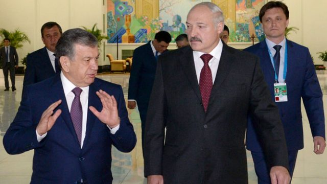 Лукашенко в Ташкенте