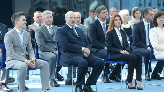 Лукашенко в НОК
