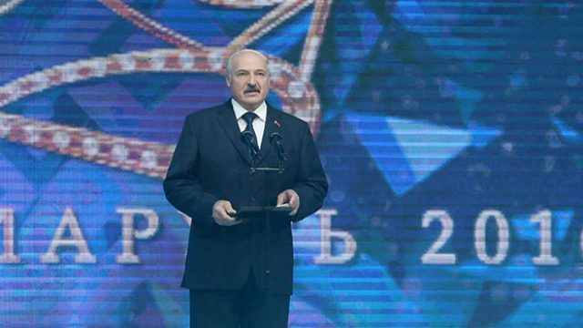 Лукашенко про красавиц