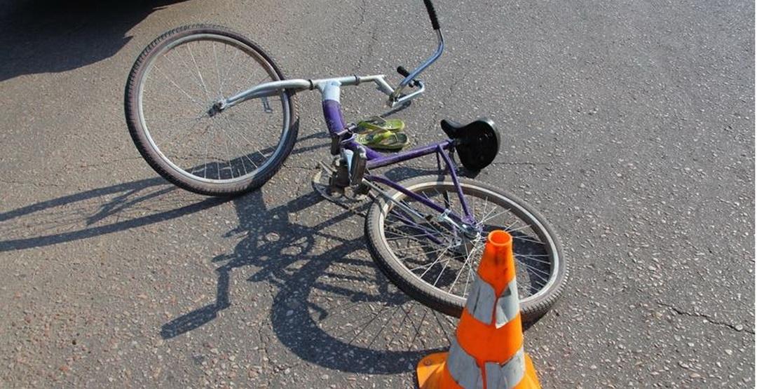велосипедист в дтп