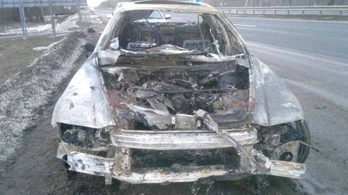 сжёг автомобиль ради страховки