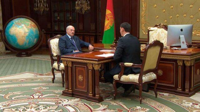 Лукашенко про налоги