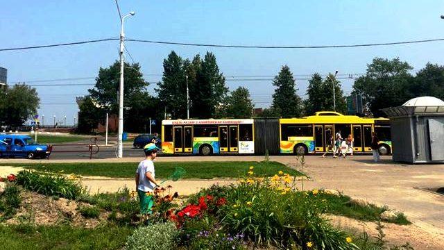 Автобус для олимпийцев