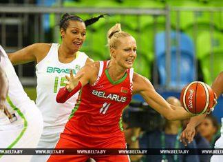белорусские баскетболистки в Рио
