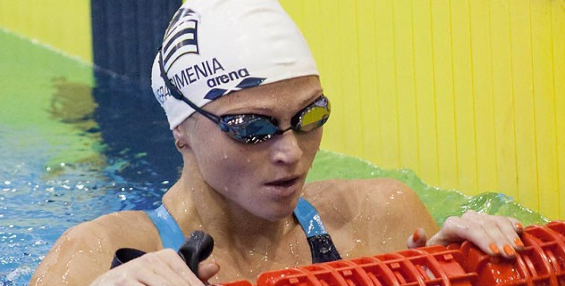 Герасименя непрошла вфинал 100-метровки вольным стилем