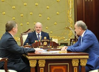 Лукашенко и Кобяков