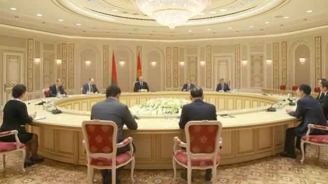 Лукашенко рассчитывает нановый этап китайско-белорусского партнерства