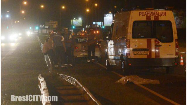 НаВаршавском шоссе 21-летний шофёр VWсбил насмерть пешехода— Брест