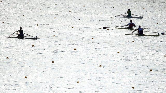 Станислав Щербаченя вышел вполуфинал заездов одиночек олимпийского турнира поакадемической гребле
