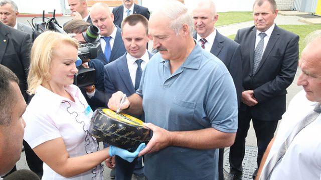 Лукашенко про Витебщину