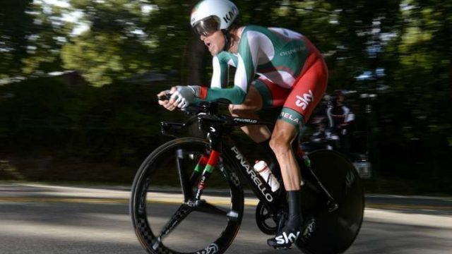 Велогонщик Кириенко упал свелосипеда впроцессе групповой гонки вРио
