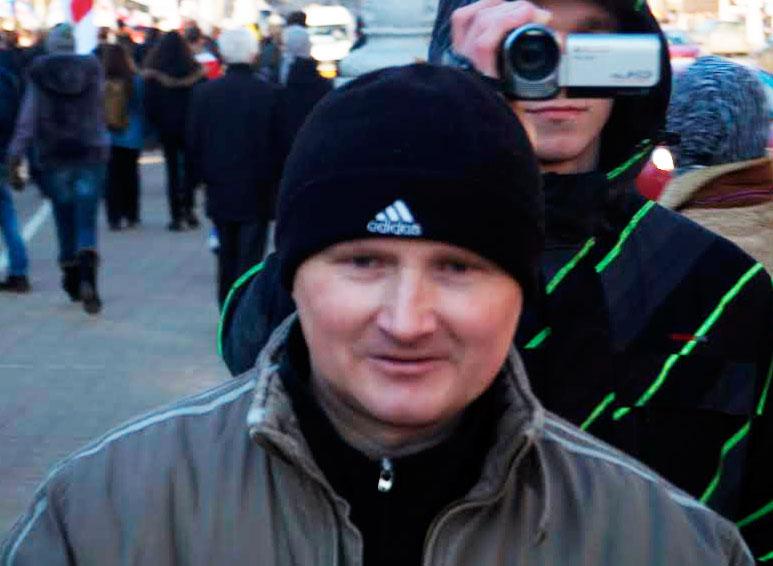 Владимир Кондрусь признан политзаключенным