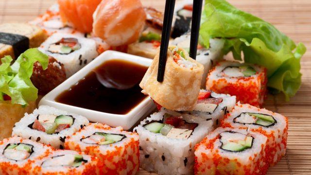Продукты для одного изресторанов японской кухни вМинске хранились вгараже