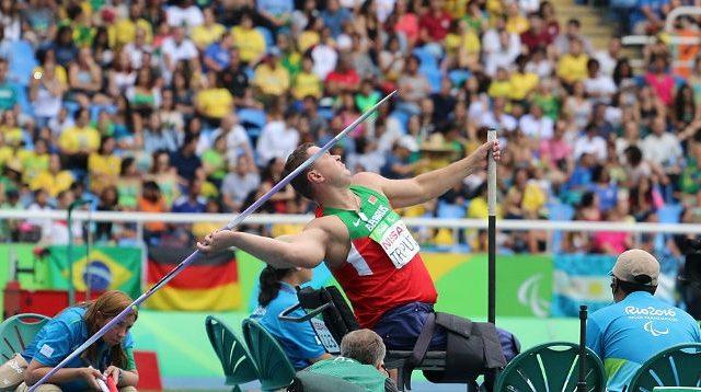 Белорус Трипуть одержал победу «бронзу» Паралимпиады вметании копья