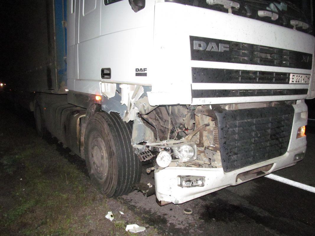 ДТП под Бегомлем: шофёр ипассажирка мопеда погибли после столкновения сфурой