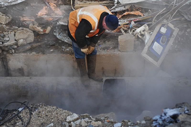 Авария натрубопроводе вМинском районе: два учреждения остались без воды