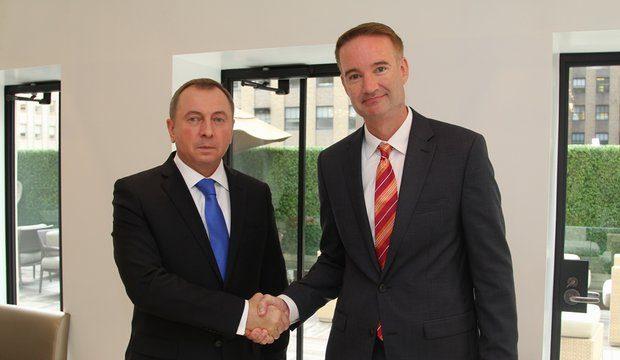 Макей обсудил взаимодействие Беларуссии иСША ввоенной сфере