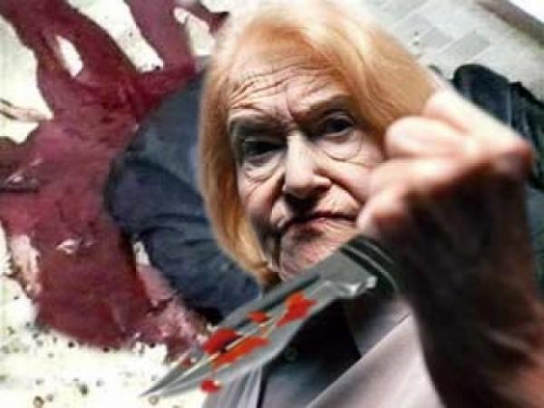 86-летняя пенсионерка пробовала уничтожить ножом 18-летнюю девушку