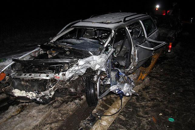 ВВитебском районе при лобовом столкновении пострадали два человека