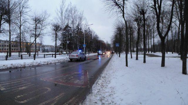 ВНовополоцке напешеходном переходе сбили 46-летнюю женщину