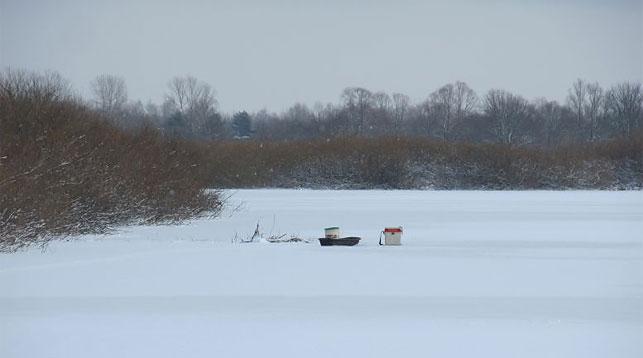 ВЛоевском районе наДнепре отыскали тело рыбака