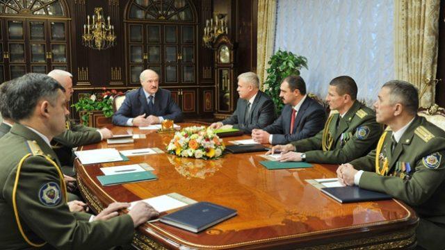 Лукашенко сменил начальника собственной службы безопасности