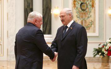 Награжление у Лукашенко