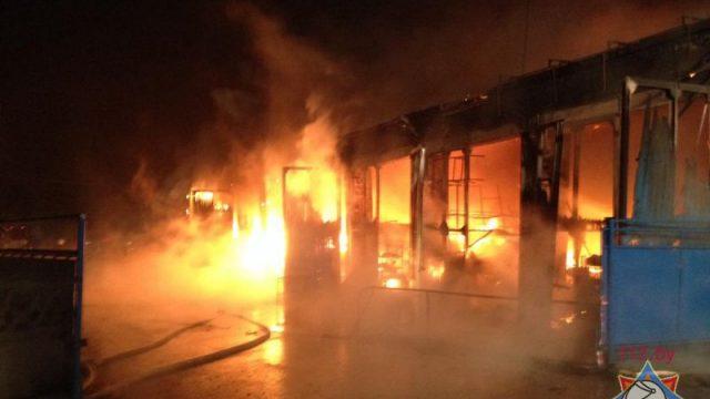 Напожаре погибли три человека— Пуховичский район