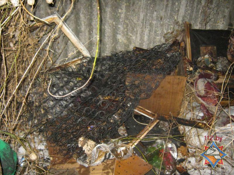 Мужчина умер впожаре вквартире стремя извещателями