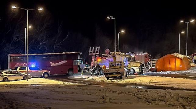 Два белорусских автобуса попали вДТП вПольше и Российской Федерации