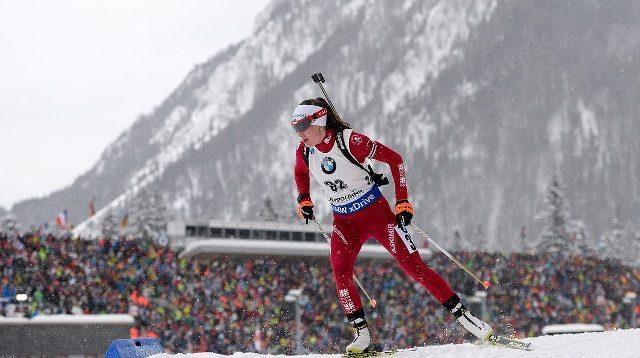 Финская биатлонистка Мякяряйнен выиграла спринт вРупольдинге, Акимова— 15-я