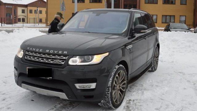 ВПольше задержали белоруса накраденом люксовом Range Rover
