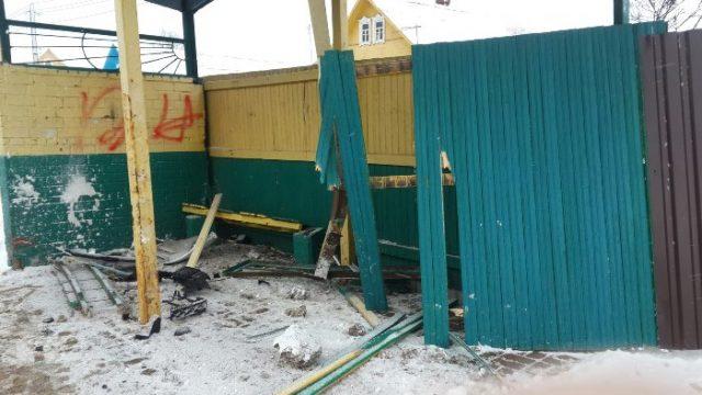 ВВитебске задержали голого водителя, протаранившего остановку