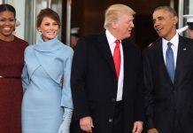 Трамп на инаугурации