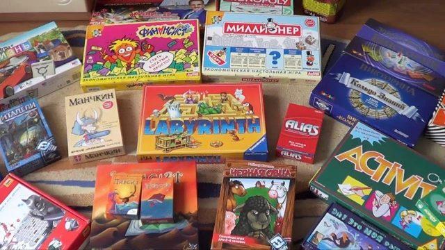 Чем интересны настольные игры?