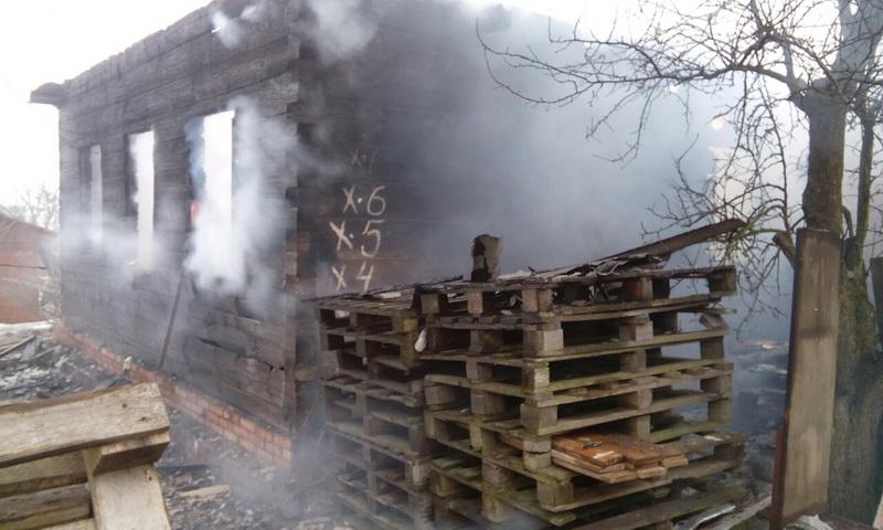 Мужчина спас мать и супругу напожаре вМинском районе