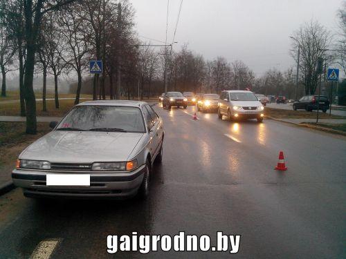 Нетрезвый гражданин Гродно напешеходном переходе сбил маму с сыном