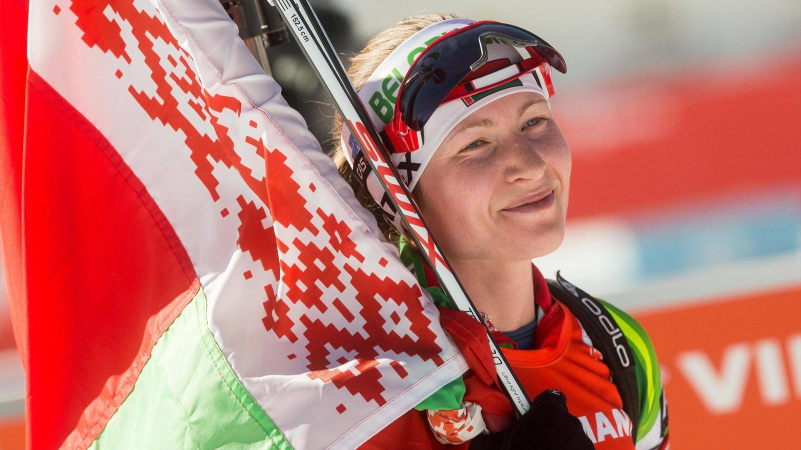 Биатлонистка Дальмайер выиграла гонку преследования наЧМ вХохфильцене