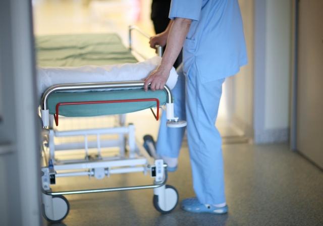 умерла в больнице