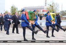 Лукашенко и Порошенко в Чернобыле