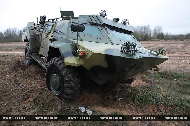 Навооружение белорусской армии поступит броневик «Кайман»