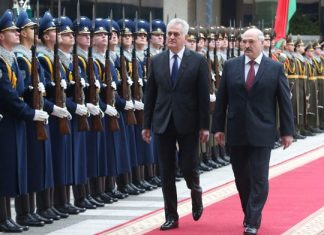 Николич и Лукашенко