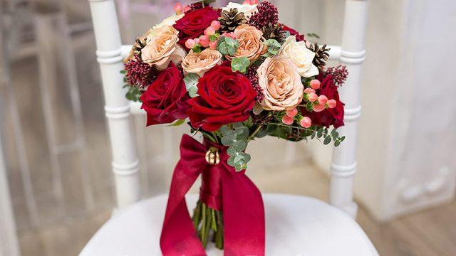 В Гродно теперь можно заказать роскошный свадебный букет