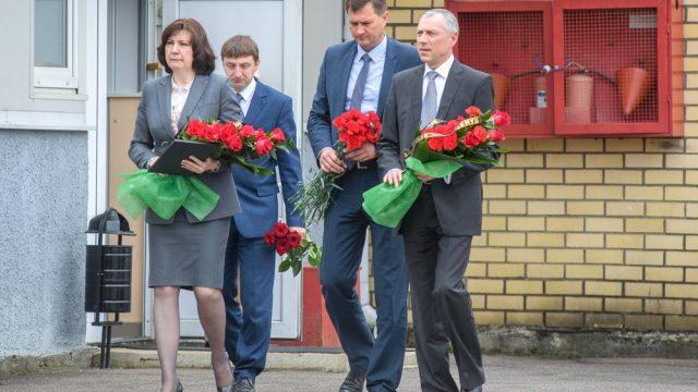 Чиновники на похоронах