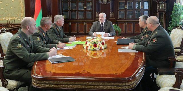 Лукашенко про учения