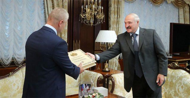 Лукашенко и Новицкий
