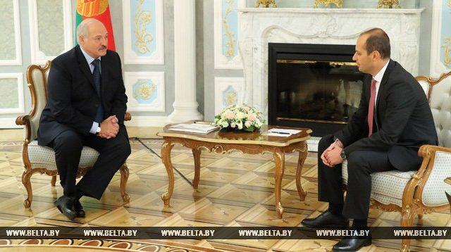 Лукашенко и  Джанелидзе