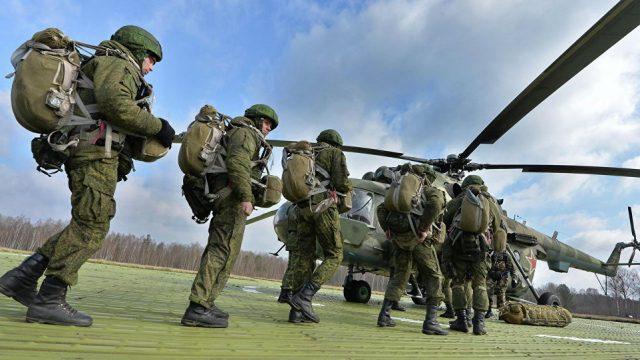 В Беларусь прибыли военные самолёты РФ на учения «Запад-2017»