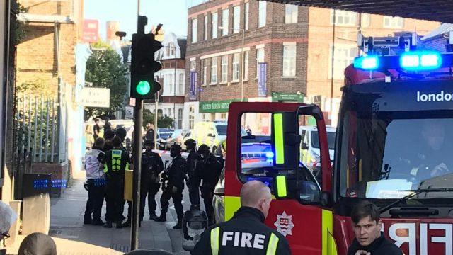 Взрыв в Лондоне