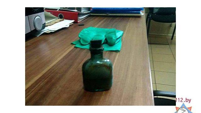 В Бресте на мусороперерабатывающем заводе нашли бутылку с ртутью